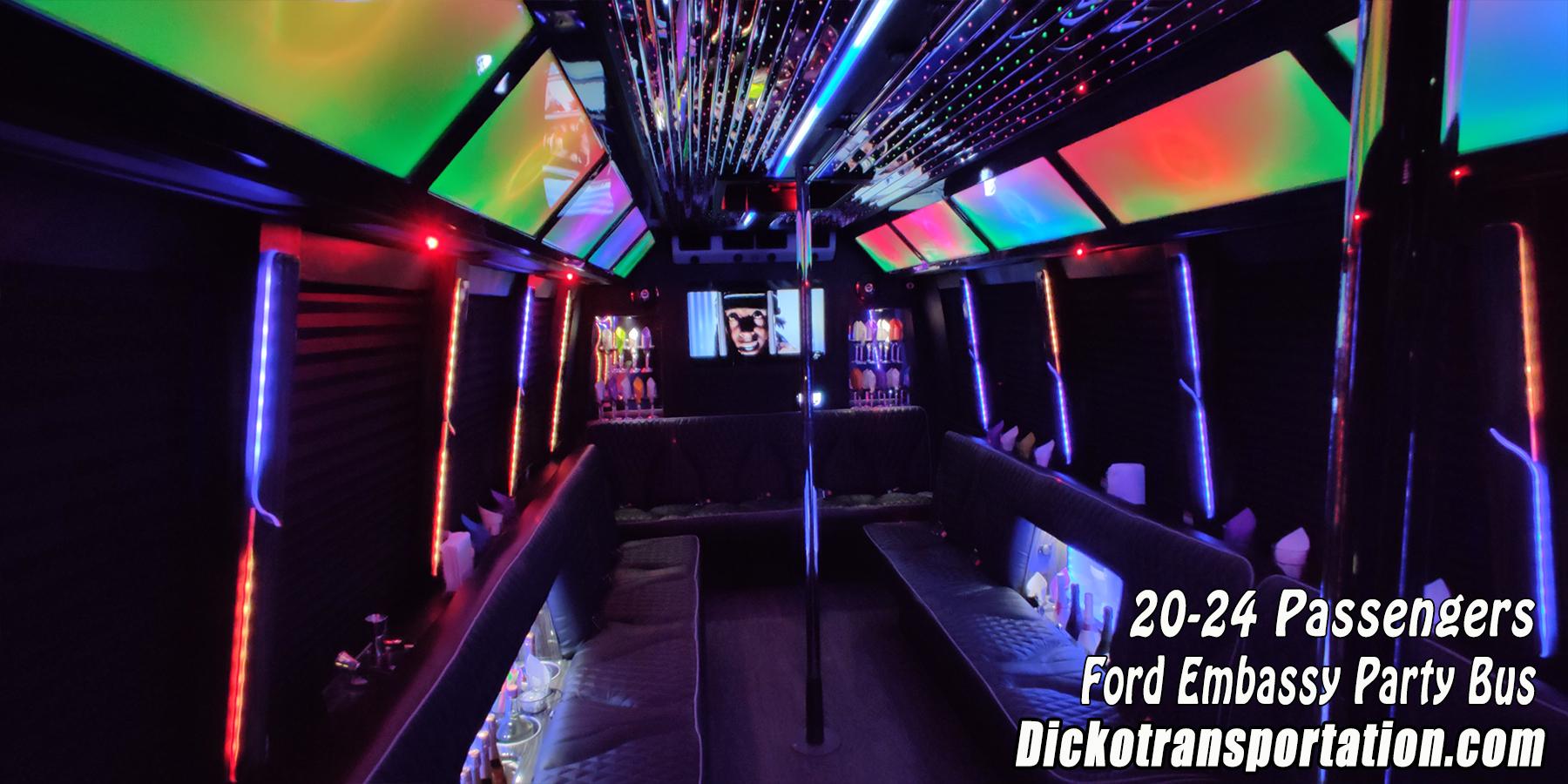 Dicko Transportation 24 Passenger Party Bus
