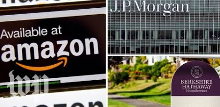 FIRM SERVICES AMAZON BERKSHIRE HATAHAWAY JP MORGAN