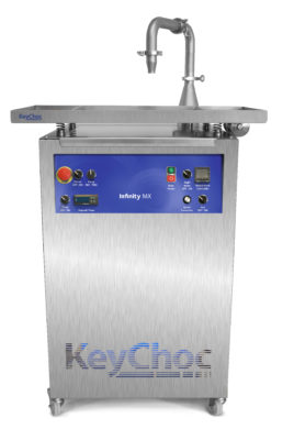 Infinity Mx Chocolate Tempering Machine For Inclusions Keychoc Ltd