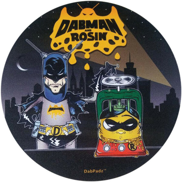 DabPadz Round Fabric Top Dabman & Rosin