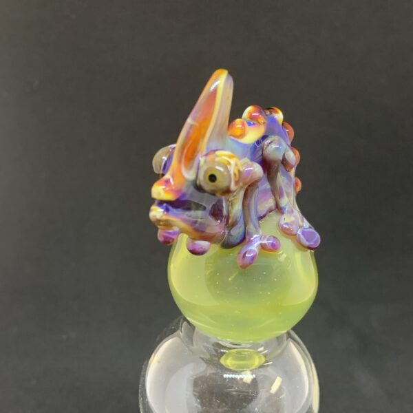 Chameleon Bubble Carb Cap