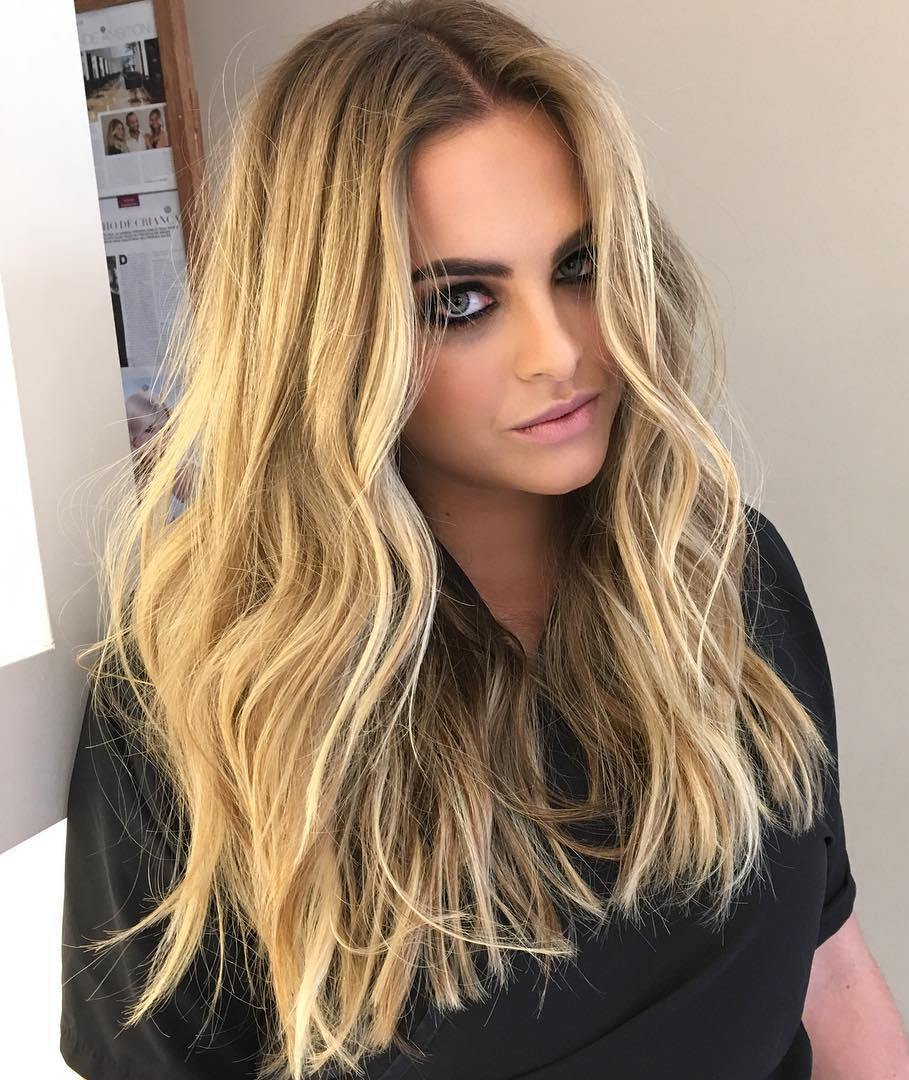 Light waves Hairstyle