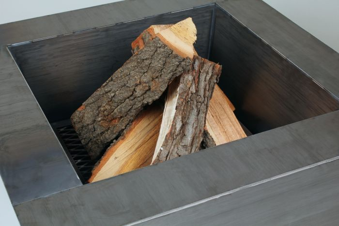 Burn pinion wood