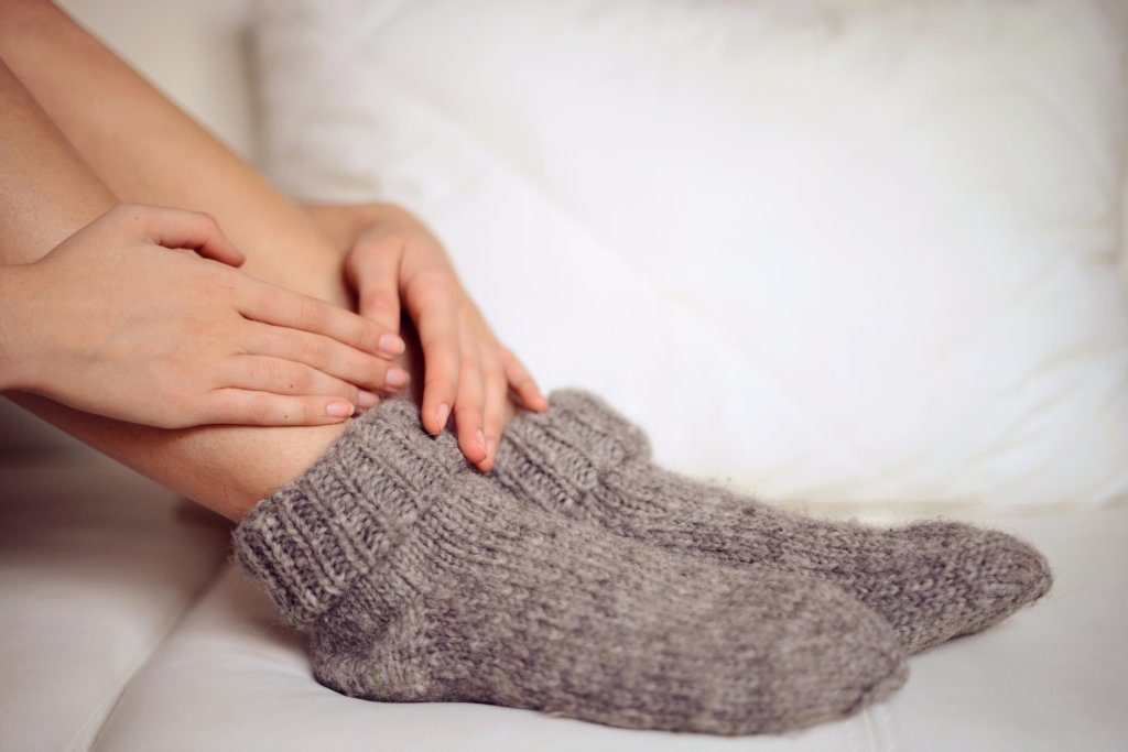 Cold feet and hands