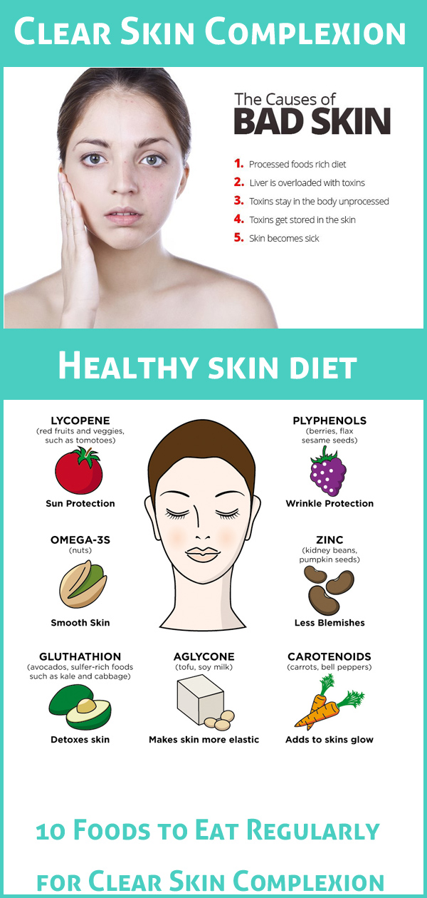 Clear Skin Complexion