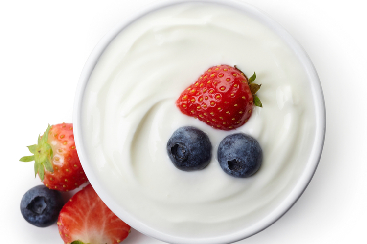 Non-fat yogurt