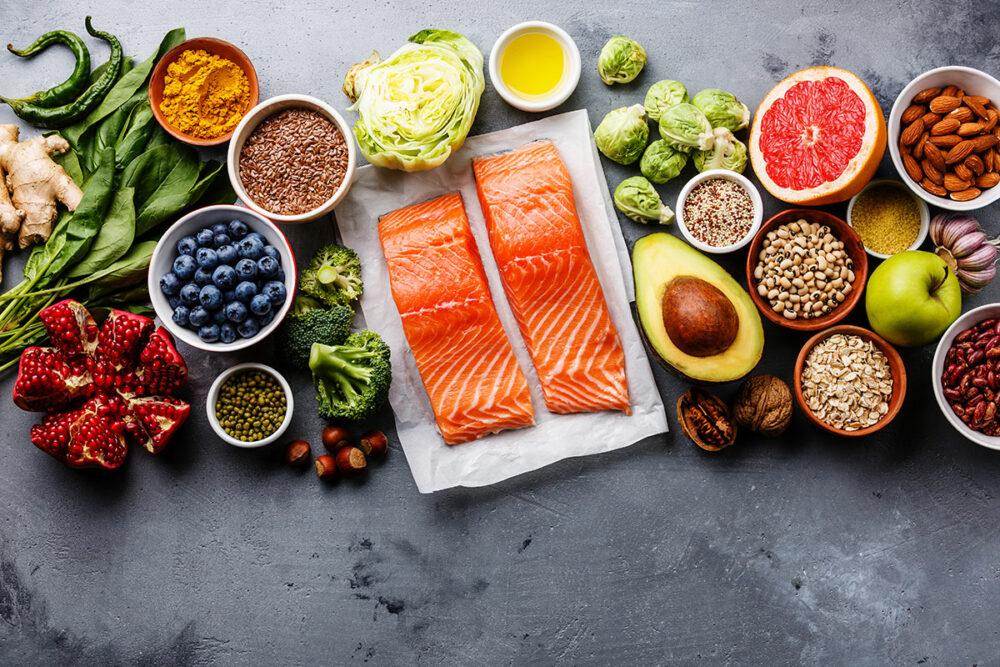 Consuming an anti-inflammatory diet