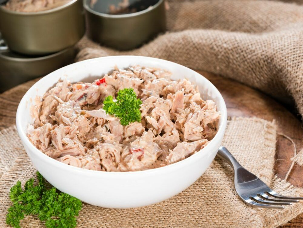 Processed Tuna Seafood