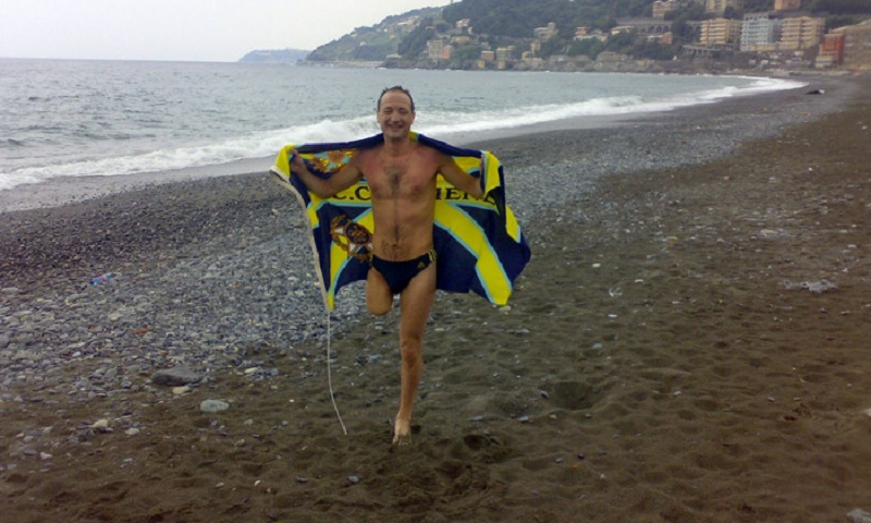 Interview with Salvatore Cimmino, Italian Amputee Marathon Swimmer