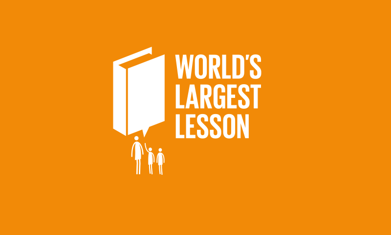 World's Largest Lesson: Educating Youth on SDGs