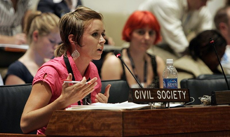 Giving civil society a voice at the United Nations