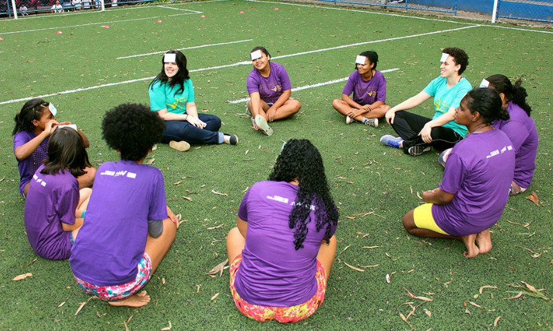 Sport paves the way for skills and jobs for young mothers in Brazil