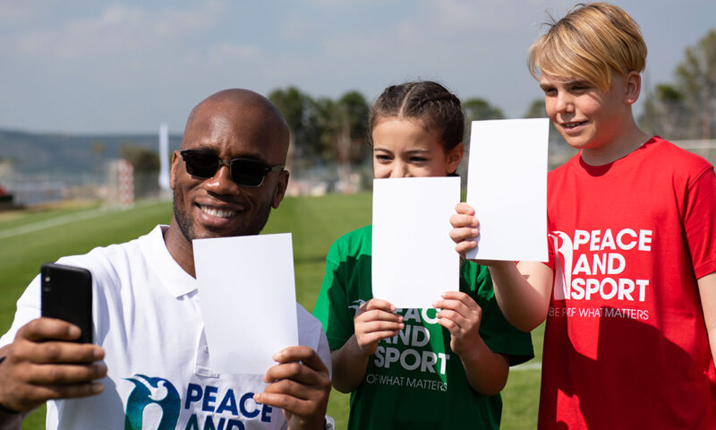 Join the #WhiteCard and play for change