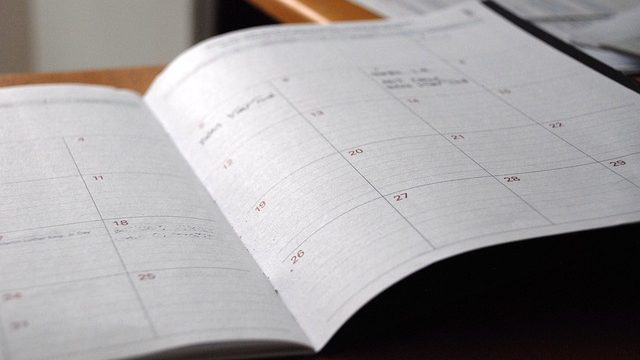 Uncluttering your calendar