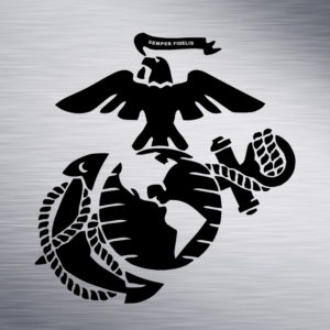 Semper Fi Engraving Design