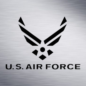 US Air Force Engraving Design
