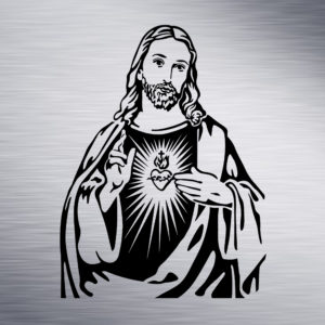 Jesus Engraving Design
