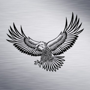 Eagle Engraving Design