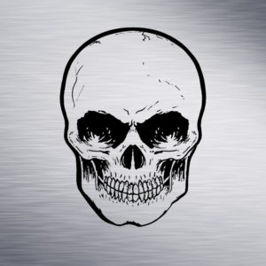 Skull Engraving Design