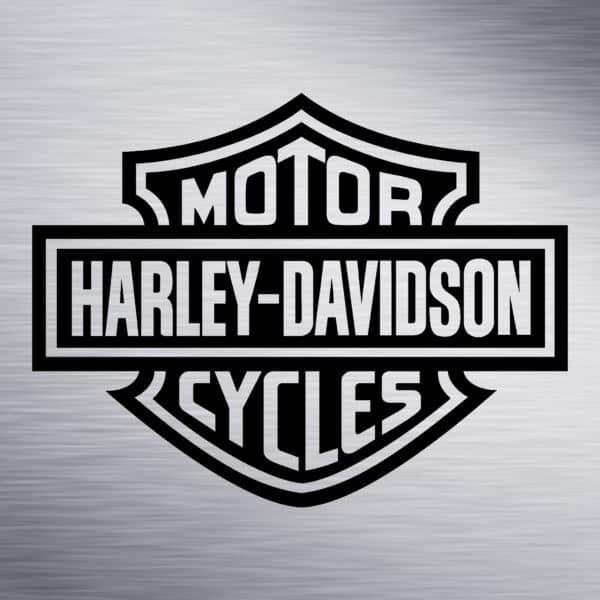 Harley Davidson Logo Engraving Design