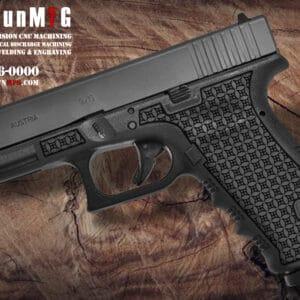Glock 17 Laser Stippling T1 Pattern