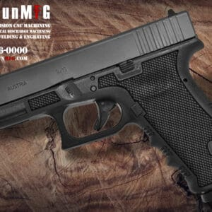 Glock 17 Laser Stippling T3 Pattern