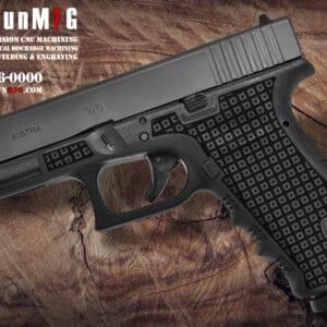 Glock 17 Laser Stippling T4 Pattern