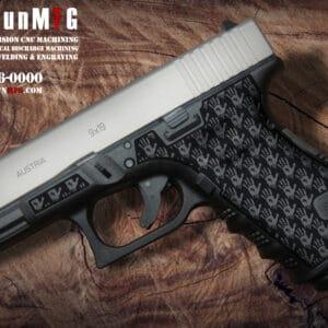 Glock 19 Laser Stippling T16