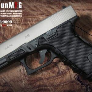 Glock 19 Laser Stippling T3