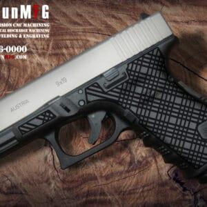 Glock 19 Laser Stippling T7