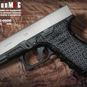 Glock 19 Laser Stippling T8