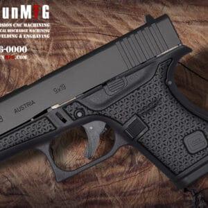 Glock 43 Laser Stippling Pattern T12