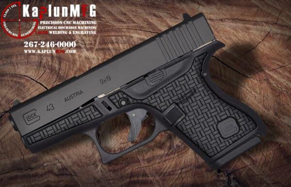 Glock 43 Laser Stippling Pattern T18