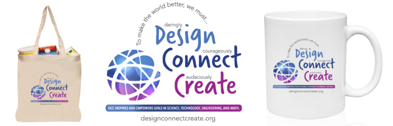 Design Connect Create Supporter Swag