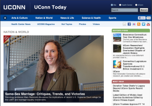 UConn Today content marketing