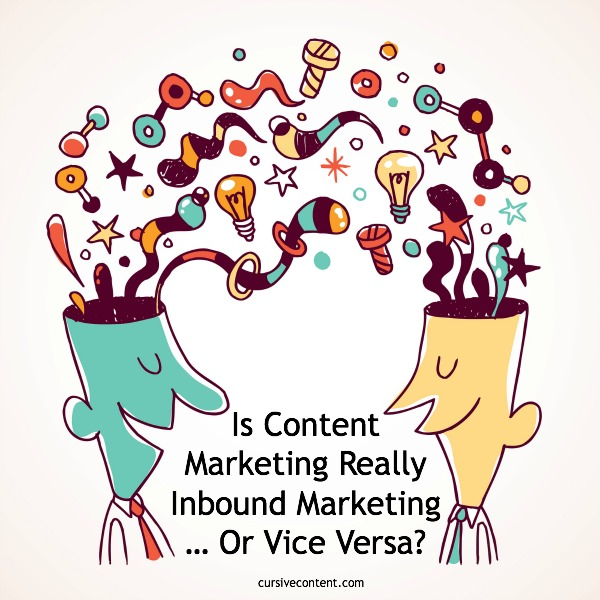 Is Content Marketing Really Inbound Marketing or Vice Versa