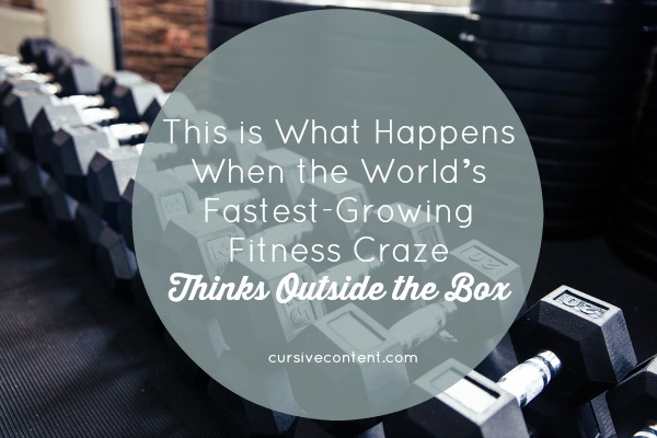 This is What Happens When the World's Fastest Growing Fitness Craze Thinks Outside the Box