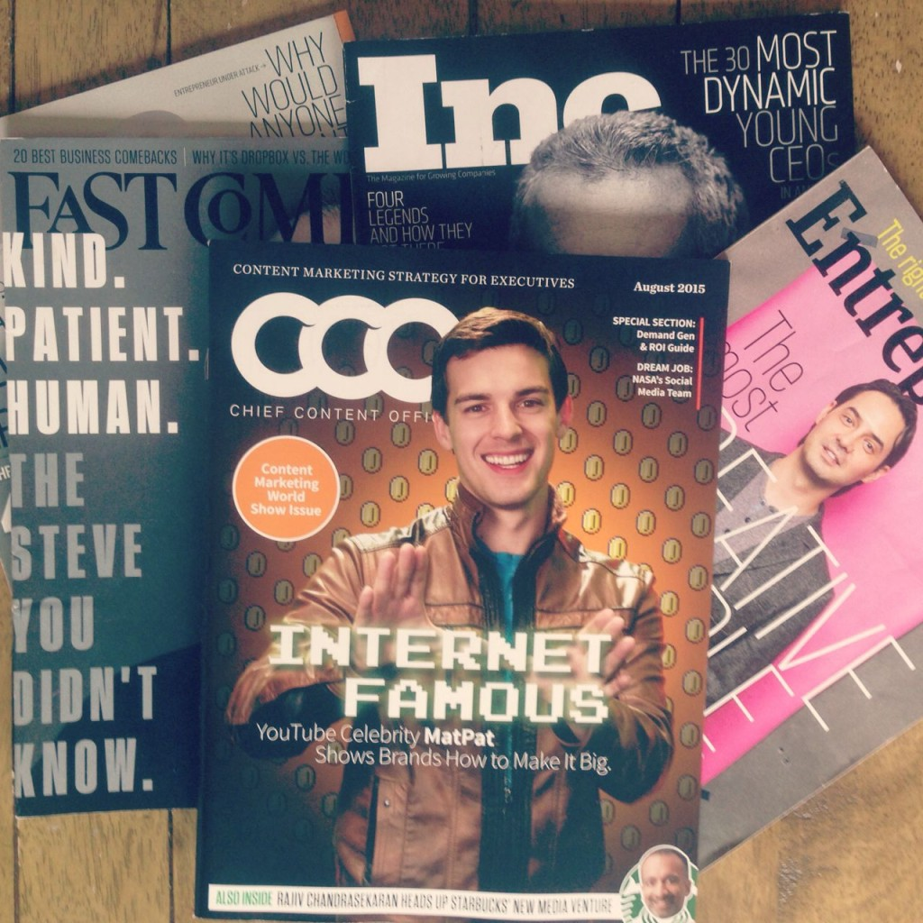 marketing publications in print