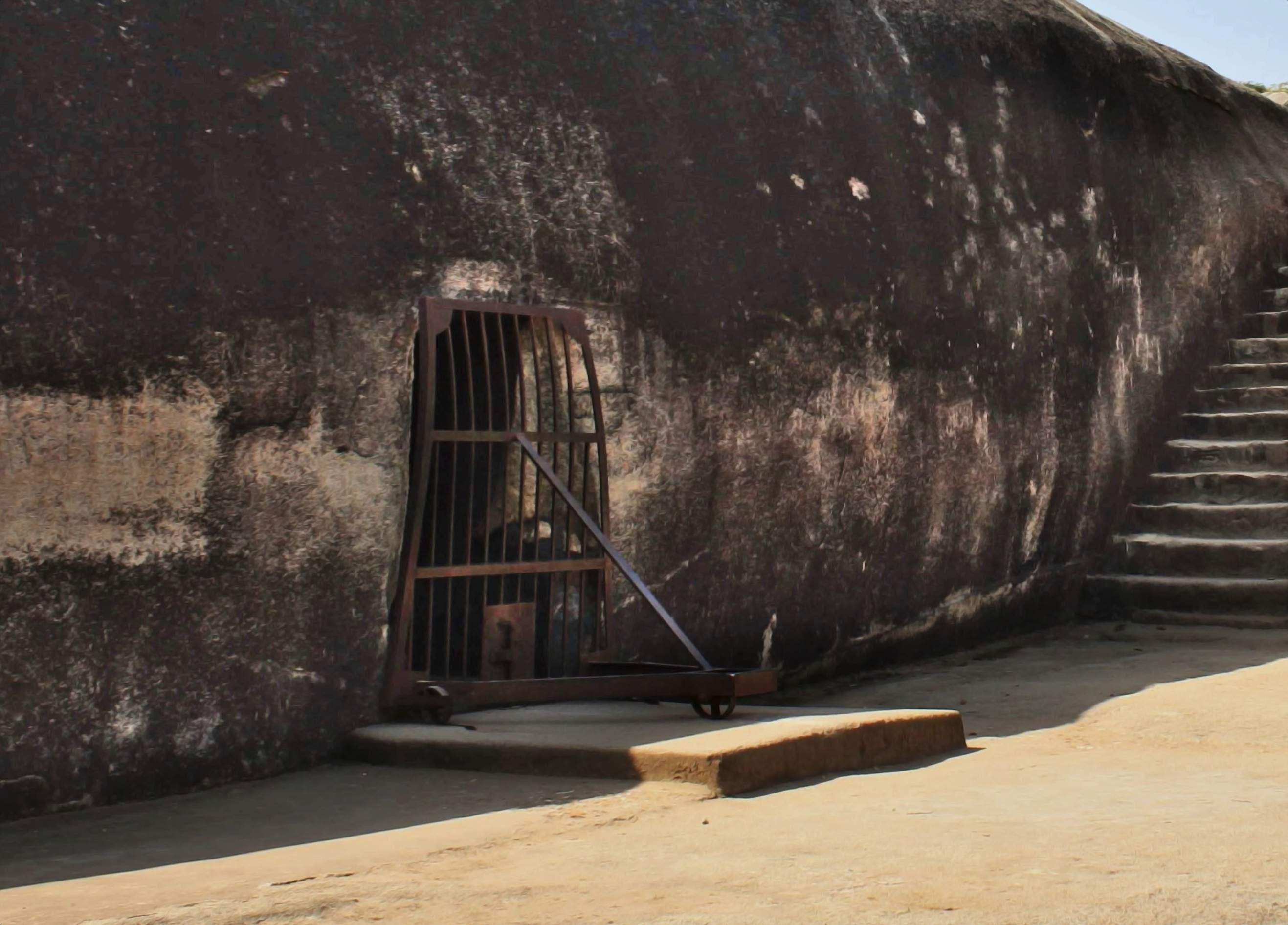 Karan Chaupar Cave – the First Cave in Barabar Hills