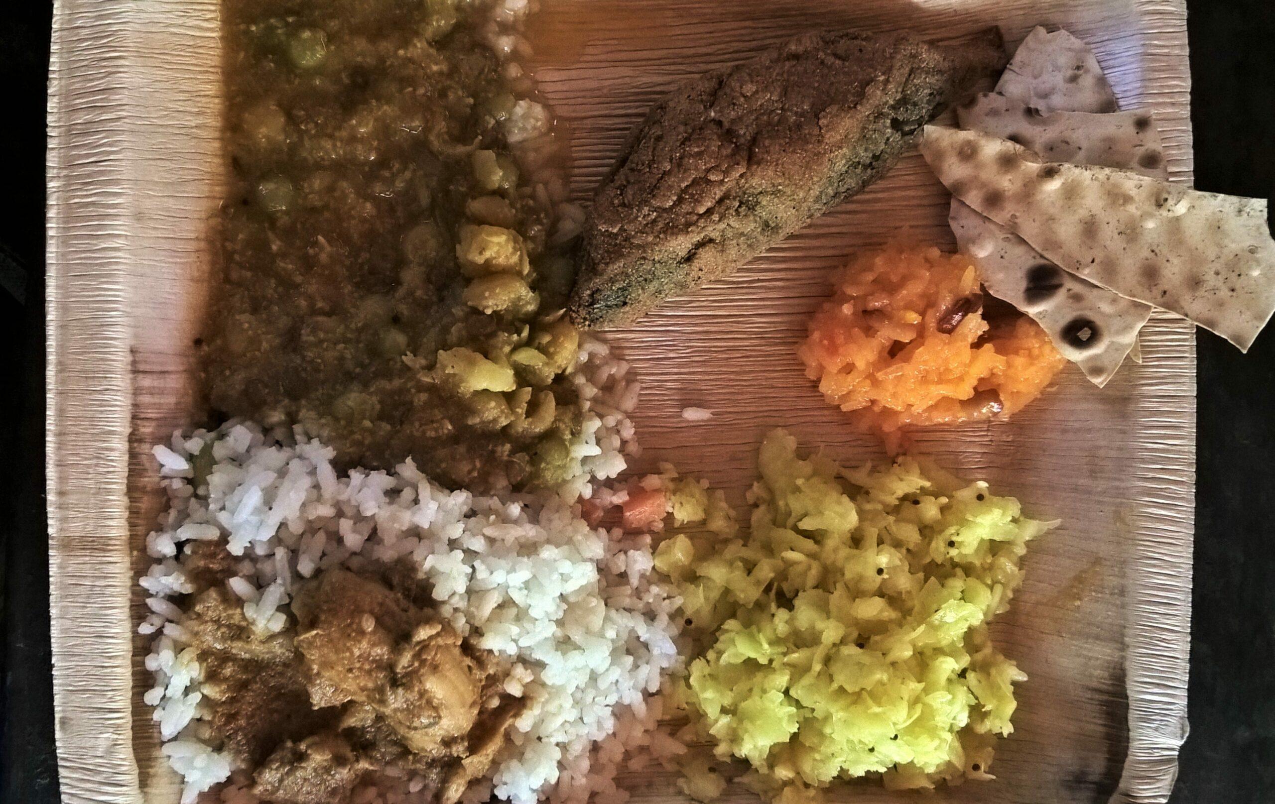 Delicious Lunch at Sahakari Spice Farm