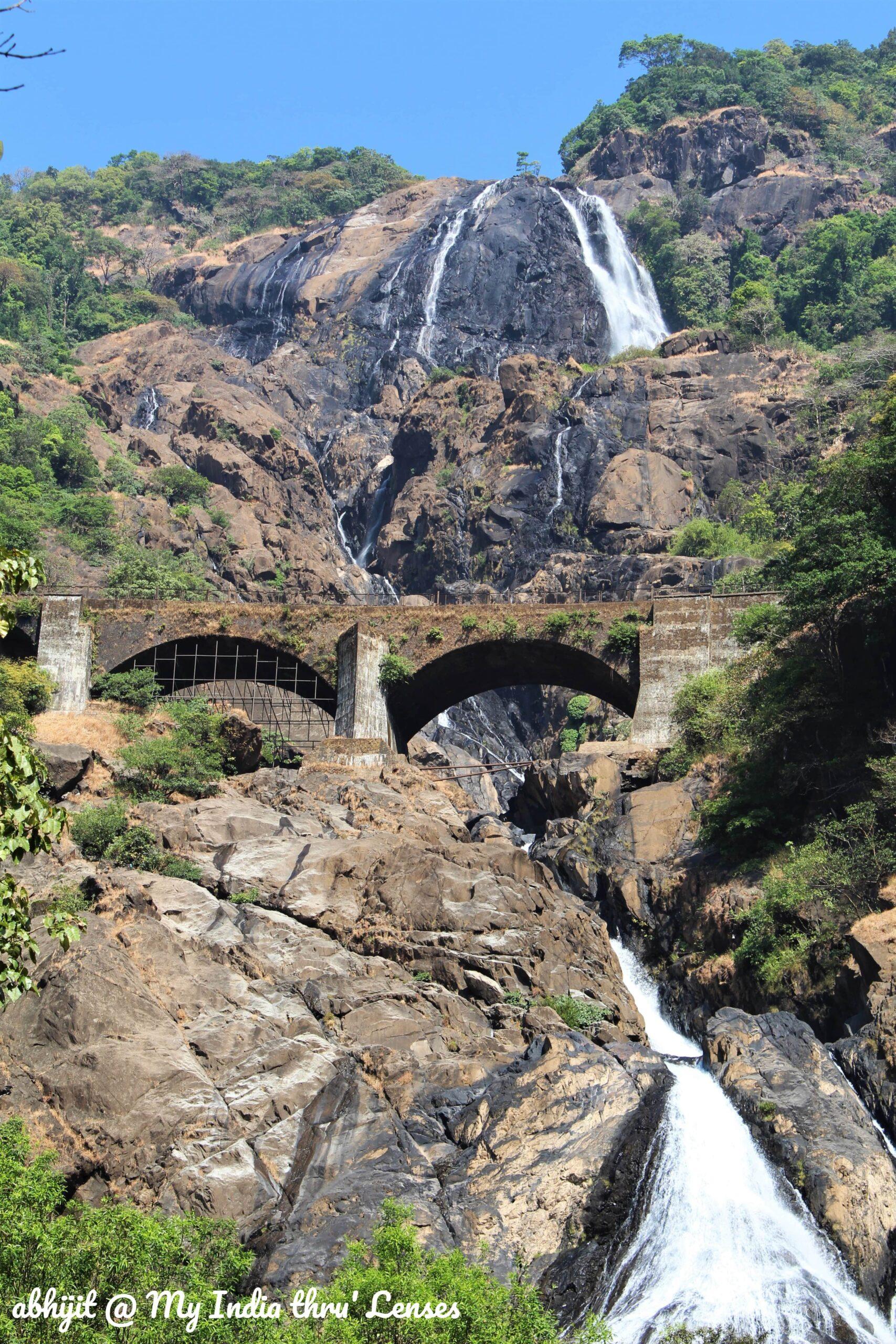 The Dudhsagar Falls