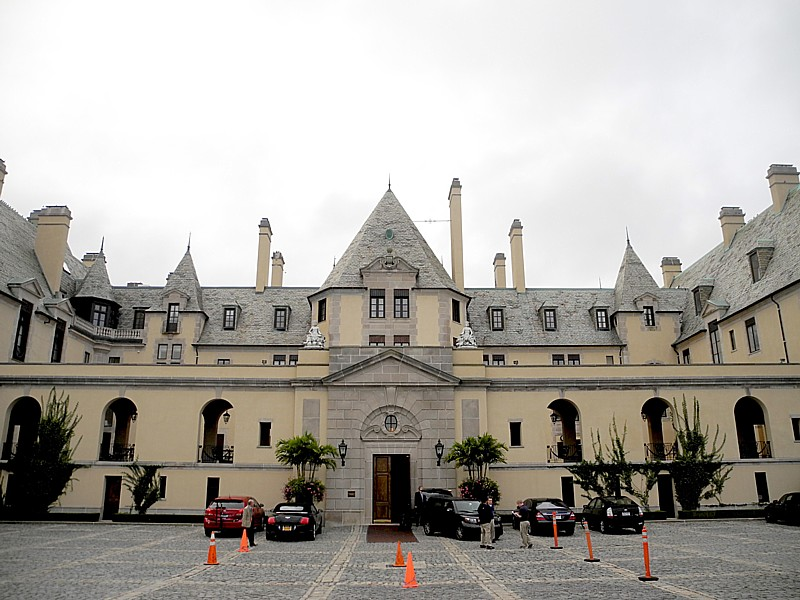 Oheka Castle (1919) Huntington, New York. The Melius Family is nominated for Legendary Family Historic Hoteliers of the Year © 2014 Karen Rubin/news-photos-features.com