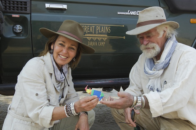 Wildlife filmmakers, conservationists and National Geographic Explorers–in–Residence Dereck & Beverly Joubert, who are at the forefront of this project, are getting into the spirit of the selfie campaign to raise money to relocate rhinos even from the wilderness in Botswana.