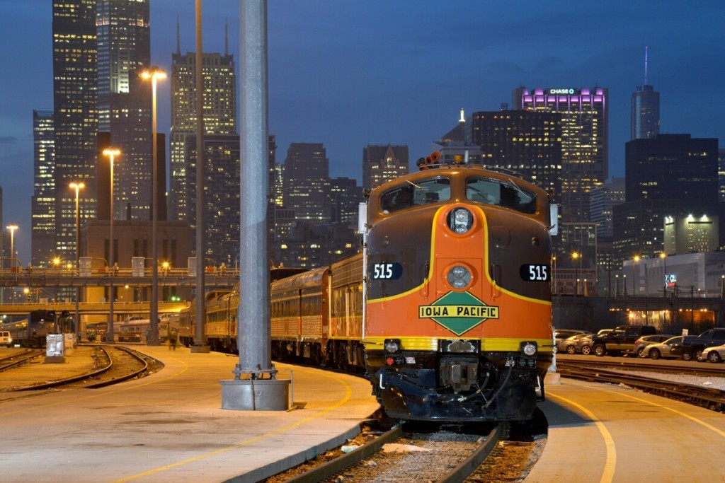 Traveling in first-class rail style, the special trip will depart Chicago's famed Union Station in meticulously restored Pullman cars the evening of Dec. 27, arriving at its southernmost stop of Miami the evening of Dec. 29.