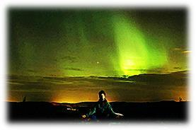 An unusual tour organized by Off the Map Travel allows guests to experience the spiritual side of the Northern Lights at a yoga retreat in Finland.