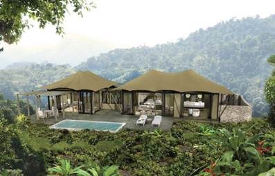 Nayara Hotels has two properties set in Costa Rica's Arenal Volcano National Park and is opening a third, exclusive accommodation, Nayara Tented Resort.