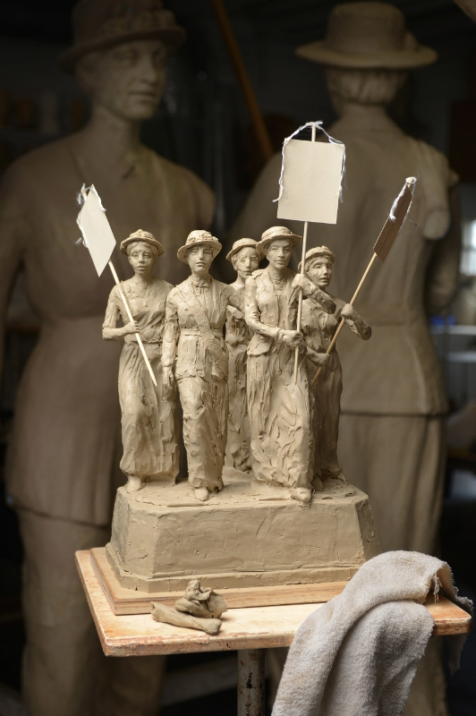 Tennessee Woman Suffrage Monument (Dean Dixon photo; PRNewsFoto/Tennessee Woman Suffrage Monume)