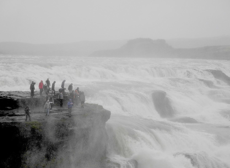 Gullfoss Falls, Iceland © 2016 Karen Rubin/goingplacesfarandnear.com