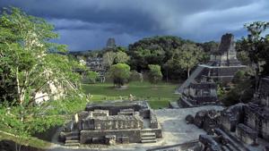 Great Plaza, Tikal, El Petén, Guatemala