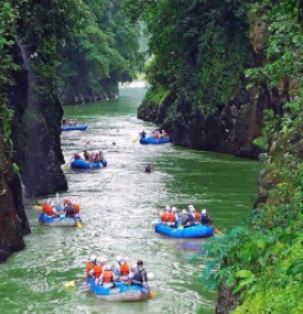 Western's nine-day/eight-night Costa Rica Vacation Package includes conquering the rapids of the legendary Pacuare River, rated one of the most beautiful in the world.
